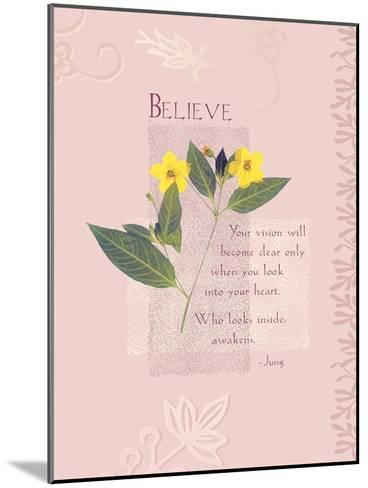 Believe--Mounted Giclee Print