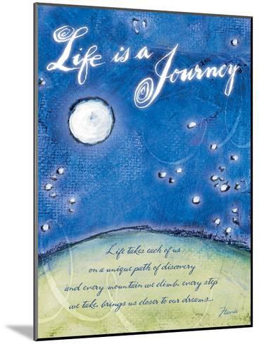 Life is a Journey-Flavia Weedn-Mounted Giclee Print
