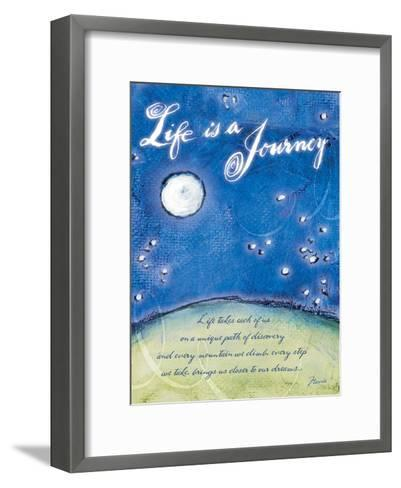 Life is a Journey-Flavia Weedn-Framed Art Print