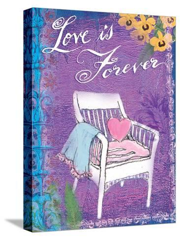 Love is Forever-Flavia Weedn-Stretched Canvas Print