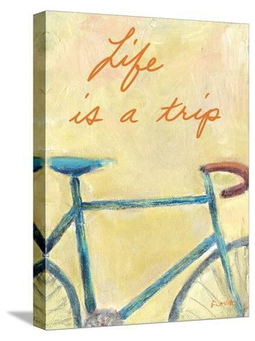 Life is a Trip-Flavia Weedn-Stretched Canvas Print