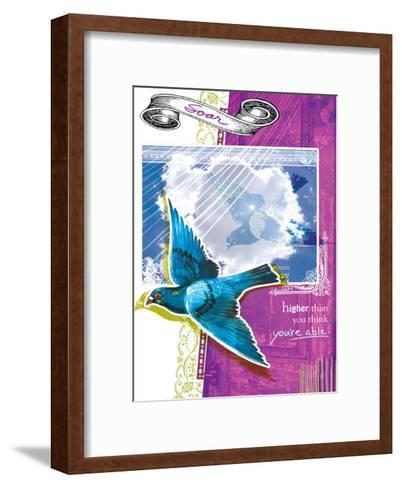 Soar Higher--Framed Art Print