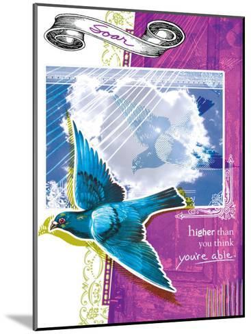 Soar Higher--Mounted Giclee Print