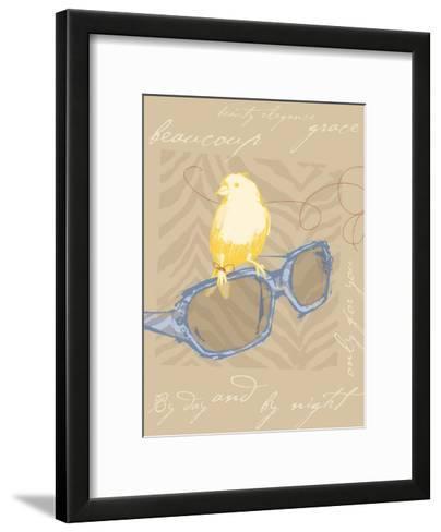 Yellow Bird--Framed Art Print