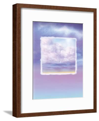 Lavender Sky--Framed Art Print