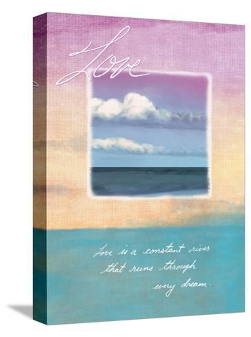 Love's Horizon--Stretched Canvas Print