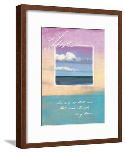 Love's Horizon--Framed Art Print