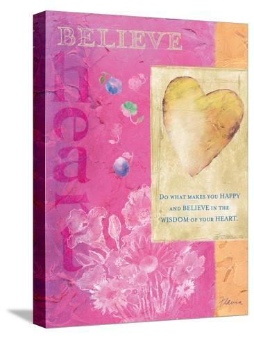 Wisdom of Your Heart-Flavia Weedn-Stretched Canvas Print
