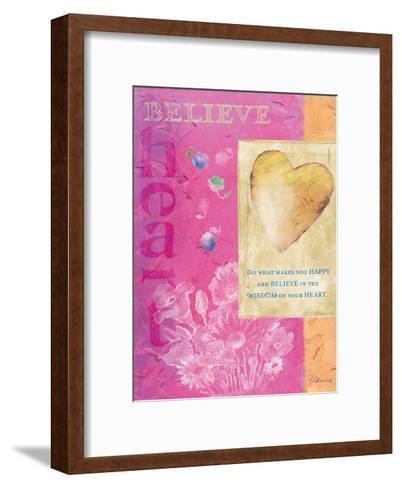 Wisdom of Your Heart-Flavia Weedn-Framed Art Print