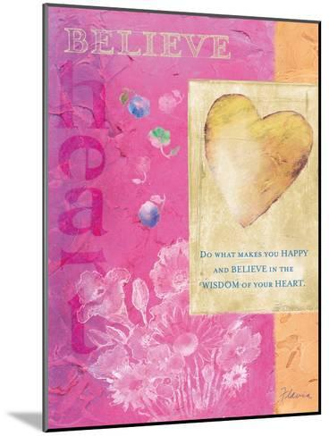 Wisdom of Your Heart-Flavia Weedn-Mounted Giclee Print