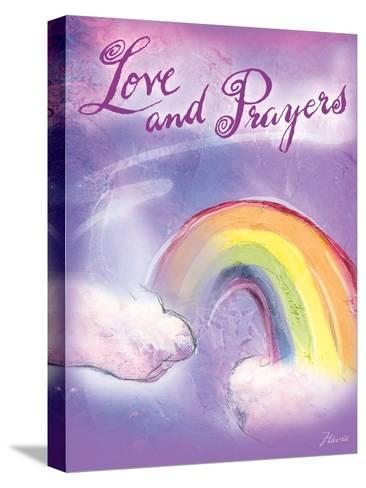 Love and Prayers-Flavia Weedn-Stretched Canvas Print