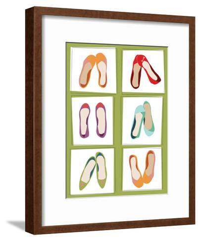 Ballet Flats--Framed Art Print