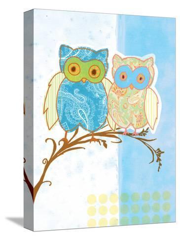 Owl Love-Bessie Pease Gutmann-Stretched Canvas Print