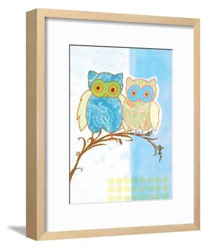 Owl Love-Bessie Pease Gutmann-Framed Art Print