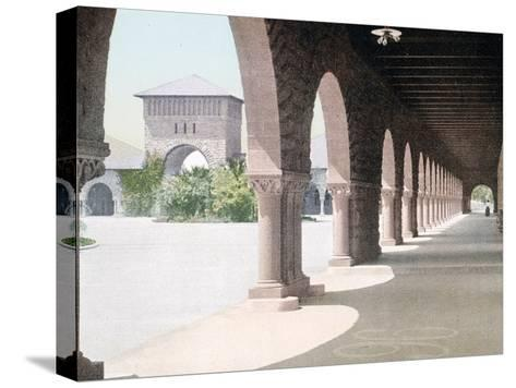 East Side of Quadrangle Leland Stanford Jr. University California--Stretched Canvas Print