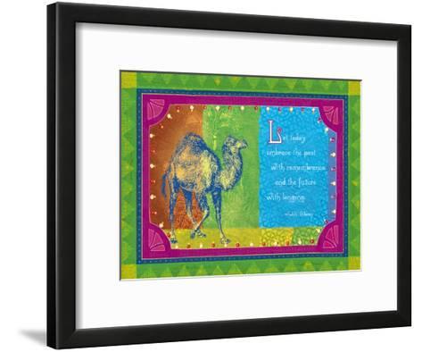 Embrace the Past--Framed Art Print