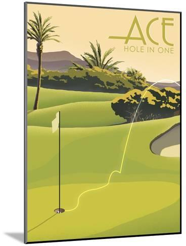 Hole in One--Mounted Giclee Print