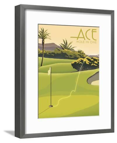 Hole in One--Framed Art Print