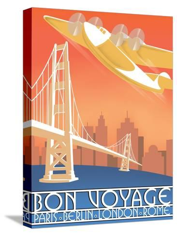 Bon Voyage--Stretched Canvas Print