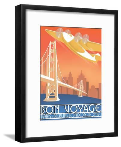 Bon Voyage--Framed Art Print