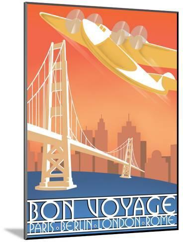 Bon Voyage--Mounted Giclee Print
