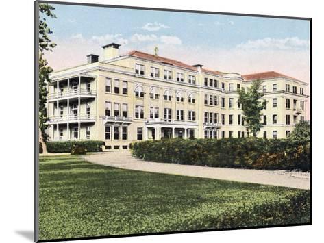 Providence Infirmary Mobile Alabama--Mounted Giclee Print