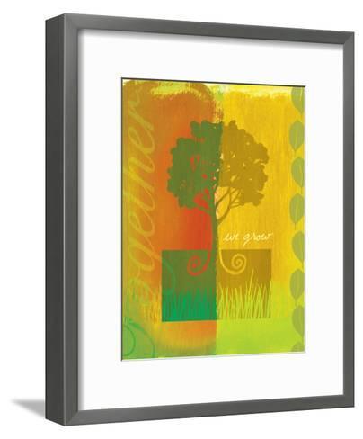 We Grow--Framed Art Print
