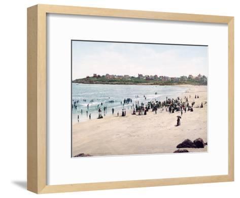 York Beach Maine--Framed Art Print