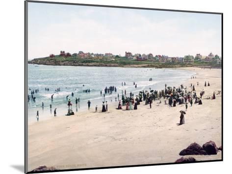 York Beach Maine--Mounted Giclee Print