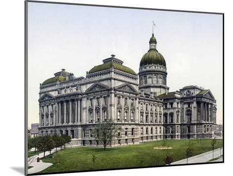 State House Indianapolis Indiana--Mounted Giclee Print