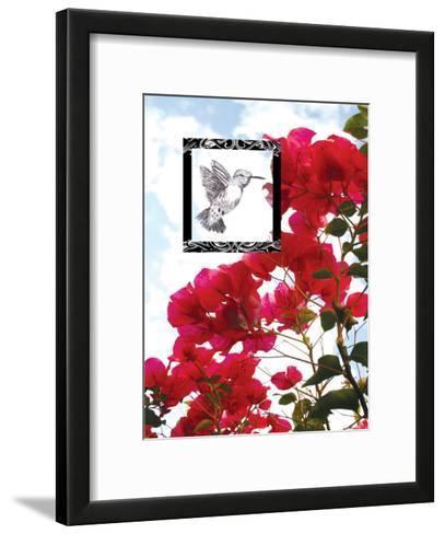 Hummingbird--Framed Art Print