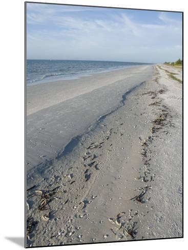 Beach, Sanibel Island, Gulf Coast, Florida, United States of America, North America-Robert Harding-Mounted Photographic Print