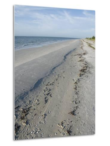 Beach, Sanibel Island, Gulf Coast, Florida, United States of America, North America-Robert Harding-Metal Print