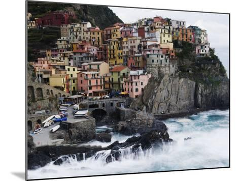 Clifftop Village of Manarola, Cinque Terre, UNESCO World Heritage Site, Liguria, Italy, Europe-Christian Kober-Mounted Photographic Print