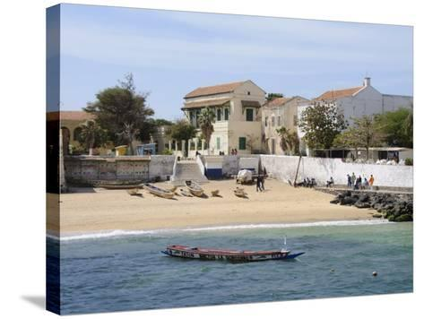 Goree Island Famous for its Role in Slavery, Near Dakar, Senegal, West Africa, Africa-Robert Harding-Stretched Canvas Print