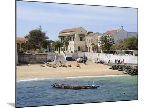 Goree Island Famous for its Role in Slavery, Near Dakar, Senegal, West Africa, Africa-Robert Harding-Mounted Photographic Print