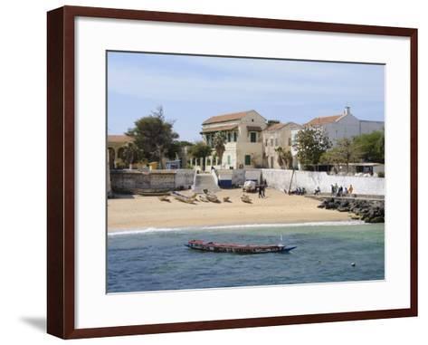 Goree Island Famous for its Role in Slavery, Near Dakar, Senegal, West Africa, Africa-Robert Harding-Framed Art Print