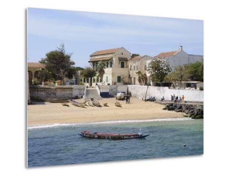 Goree Island Famous for its Role in Slavery, Near Dakar, Senegal, West Africa, Africa-Robert Harding-Metal Print
