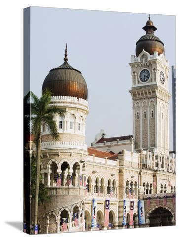 Sultan Abdul Samad Building, Merdeka Square, Kuala Lumpur, Malaysia, Southeast Asia, Asia-Christian Kober-Stretched Canvas Print