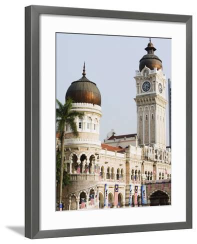 Sultan Abdul Samad Building, Merdeka Square, Kuala Lumpur, Malaysia, Southeast Asia, Asia-Christian Kober-Framed Art Print