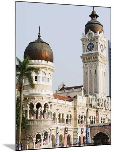 Sultan Abdul Samad Building, Merdeka Square, Kuala Lumpur, Malaysia, Southeast Asia, Asia-Christian Kober-Mounted Photographic Print