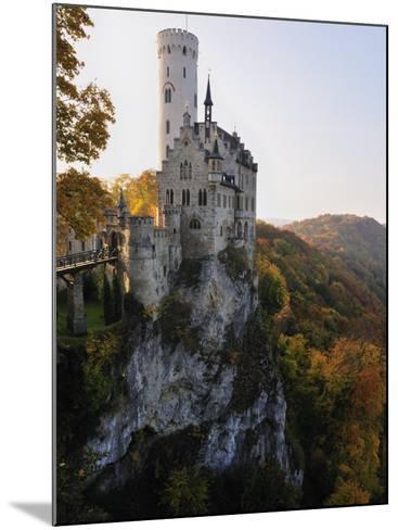 Castle Liechtenstein, Schwaebische Alb, Baden-Wurttemberg, Germany, Europe-Jochen Schlenker-Mounted Photographic Print