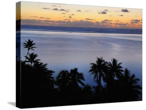 Mahuti Bay, Huahine, French Polynesia, South Pacific Ocean, Pacific-Jochen Schlenker-Stretched Canvas Print