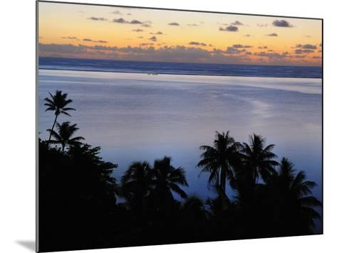 Mahuti Bay, Huahine, French Polynesia, South Pacific Ocean, Pacific-Jochen Schlenker-Mounted Photographic Print