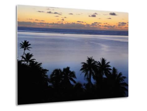 Mahuti Bay, Huahine, French Polynesia, South Pacific Ocean, Pacific-Jochen Schlenker-Metal Print