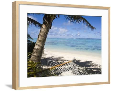 Rarotonga, Cook Islands, South Pacific, Pacific-Michael DeFreitas-Framed Art Print