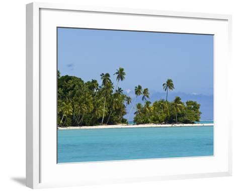Aitutaki, Cook Islands, South Pacific, Pacific-Michael DeFreitas-Framed Art Print