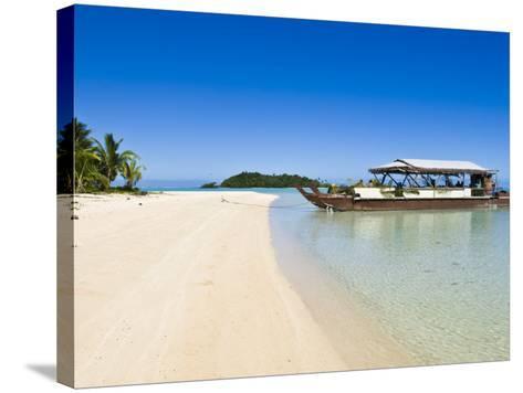 Aitutaki, Cook Islands, South Pacific, Pacific-Michael DeFreitas-Stretched Canvas Print