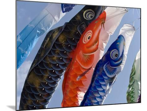 Koinobori, or Carp Streamers, Seen Throughout Japan around Children's Day, May 5Th, Japan--Mounted Photographic Print