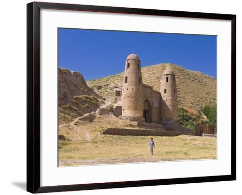 Fortress of Hissar, Tajikistan, Central Asia-Michael Runkel-Framed Art Print